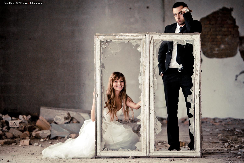 Zdjęcia ślubne Zielona Góra - zdjęcia eXtremalne Szysz